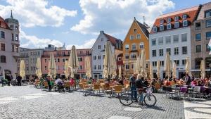 Um perfil de Augsburg, a terceira cidade mais antiga da Alemanha