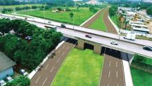 Prefeitura deve construir viadutos nos cruzamentos da Leste-Oeste com Marginal Botafogo e com BR-153