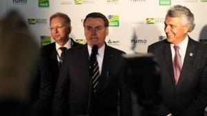 Caiado e Bolsonaro próximos garante chegada novas iniciativas ao Estado