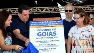 Marconi inaugura aeródromo às margens do Rio Araguaia