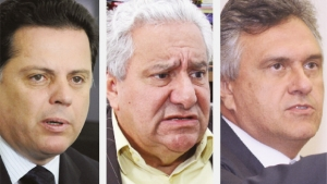 Se candidato a senador, Iris Rezende 'puxa' Ronaldo Caiado para a chapa de Marconi Perillo