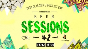 Beer Sessions no Shiva Alt-Bar com Alan Honorato e Pri Loyola