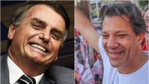 Datafolha: Bolsonaro cresce 3 pontos e chega a 35%, Haddad oscila 1 e tem 22%