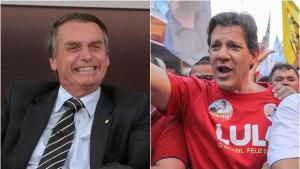 Bolsonaro tem 27% e Haddad 21% em nova pesquisa Ibope