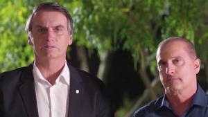 Onyx e Bolsonaro se reúnem e conversam sobre reforma da Previdência