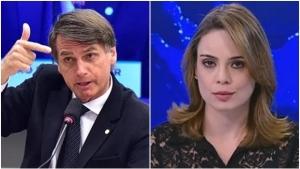 Após briga com eleitores, Sheherazade diz que nunca teve empatia política por Bolsonaro