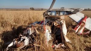 Uma pessoa morre em queda de avião em Rio Verde (GO)