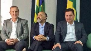 Ministro do Esporte discute revezamento da Tocha Olímpica em Goiás