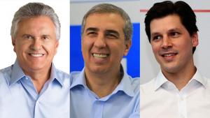 RealTime Big Data: Caiado tem 43%, Zé Eliton, 18%, e Daniel Vilela, 10%