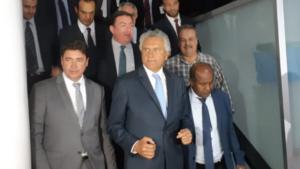 Ronaldo Caiado se reúne com futura base aliada para desobstruir algumas pautas