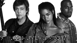 FourFiveSeconds, da cantora Rihanna, já alcança o primeiro lugar em vendas no iTunes