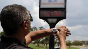 Horário de verão será reduzido em 2018