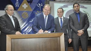 Carlesse assina proposta de cooperação técnica com a ONU