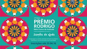 Iphan abre inscrições para o Prêmio Rodrigo Melo