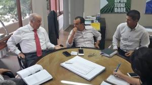 Chiareloto inicia reuniões com prefeitos para discutir industrialização do Estado