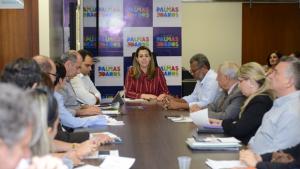 Prefeita de Palmas faz balanço de gestão e anuncia reforma administrativa