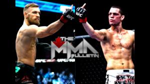 Luta exibição de Connor McGregor com Nate Diaz diz respeito a dinheiro e ao UFC