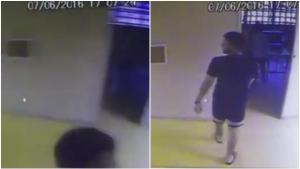 Estudante que denunciou suposto estupro na UFG aparece virando câmera de segurança