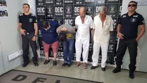 Polícia de Goiás prende quarteto por golpes com cheques falsificados e roubados