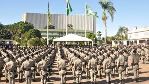 1.100 novos policiais militares estarão nas ruas em estágio operacional a partir de quinta-feira
