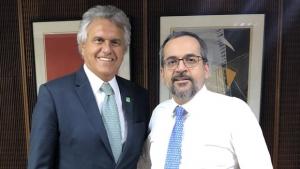 Caiado acerta com ministro da Educação fim do quarto turno no ensino do Entorno do Distrito Federal