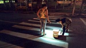 SMT afirma que vai tomar medidas cabíveis sobre faixa de pedestre improvisada por estudantes