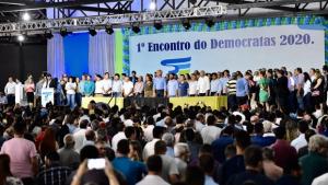 Em encontro do DEM, Ronaldo Caiado prega humildade para eleições de 2020