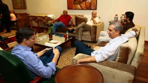 Em encontro, deputados federais analisam primeiras semanas de José Eliton como governador