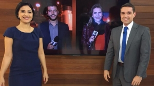 """Grupo Jaime Câmara não consegue colocar o """"Bom Dia Goiás"""" no ar. Falha da engenharia"""