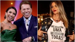 """Patrícia Abravanel compra briga do pai e detona Fernanda Lima: """"Preguiça de você"""""""