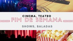 Confira a programação cultural deste sábado e domingo em Goiânia