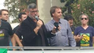 Bolsonaro diz querer Alexandre Frota como ministro da Cultura. Veja vídeo
