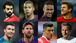 Oito candidatos a artilheiro da Copa do Mundo