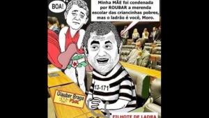 Glauber Braga é atacado após acusar Moro sem provas