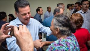 Em São Patrício, Marconi diz que o Goiásna Frente trabalha com os sonhos das famílias