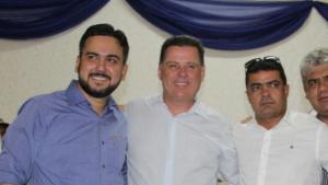 Em Campos Belos, presidente da Câmara agradece a Marconi por atender demandas da cidade