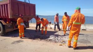 Governo retoma manutenção da ponte de Porto Nacional