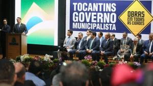 Lançamento do Programa Governo Municipalista tem presença de Bolsonaro