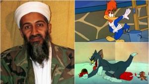HD de Bin Laden tinha episódios de 'Tom & Jerry' e 'Pica-Pau' em português