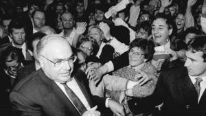 Helmut Kohl, um político europeu
