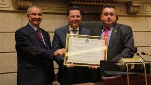 Marconi recebe título de Cidadão Honorário do Rio de Janeiro