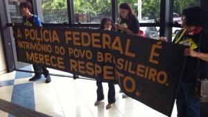 Grupo anticorrupção presta homenagem à Polícia Federal em ato de agradecimento