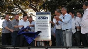 Marconi inaugura GO-239 e é homenageado pela comunidade de São Jorge