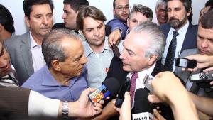 Michel Temer vem a Goiânia participar de mutirão de Iris