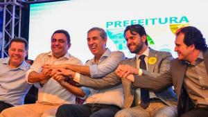 Em Luziânia, José Eliton e Baldy anunciam parceria para investimentos de R$ 57,2 milhões