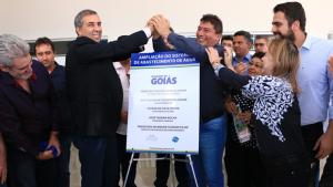 Governo conclui primeira etapa da ampliação do sistema de água e esgoto de Padre Bernardo