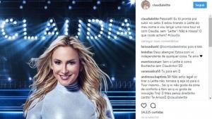 """Claudia Leitte anuncia que não vai mais usar sobrenome e fãs criticam: """"Você não é Anitta"""""""