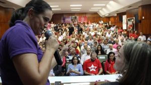 """""""Ainda somos o partido mais querido pelos brasileiros"""", diz nova presidente do PT Goiás"""