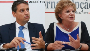 Lúcia Vânia e Thiago Peixoto são os dois políticos mais cotados para vice de José Eliton
