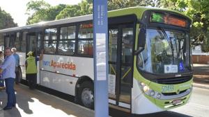 Nova linha de ônibus beneficiará 112 mil passageiros por mês em Aparecida de Goiânia
